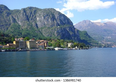 Photo of iconic village of Tremezzina in lake Como one of the most beautiful and deepest in Europe, Lombardy, Italy