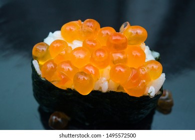 The photo of Ikura-sushi, fish egg