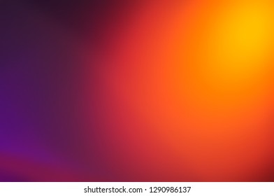 Photo image backdrop. Dark,ultra violet,purple,pink,red,orange,colorful blurred abstract with light background.Ultra violet,purple color elegance and smooth backdrop or illustration artwork design.