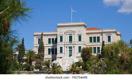 Photo from landmark building near port of Peiraeus