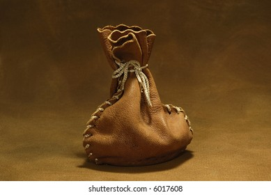 Photo of a Leather Sack / Sachel