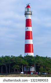 Photo of the Lighthouse at Ameland, The Netherlands