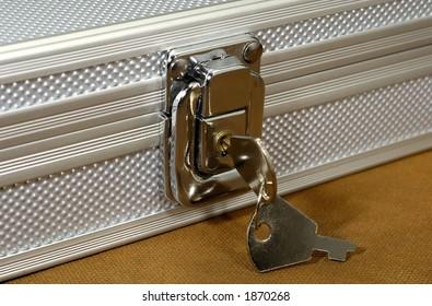 Photo of a Lock Box and Keys