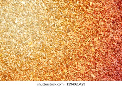 Photo of a macro background of white fine sand on the beach