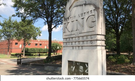 Photo of The Martin Luther King, Jr.  National Historic Site in Atlanta, Georgia (U.S.A).  Shot on September 18, 2017.