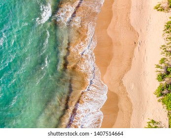 Photo Of Maui, HI beach waters from just above Wailea