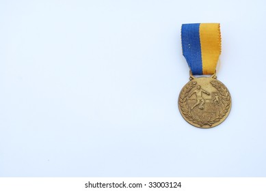 photo of a medal award from a sport competition