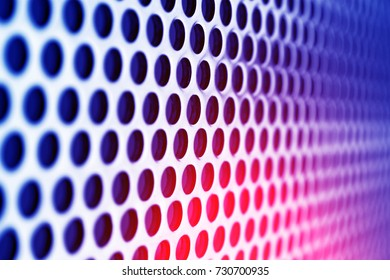 photo metal grid with cells close-up as background texture