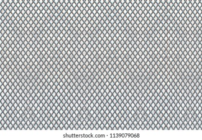 Photo of a metal steel screen that can be used for mock up, background, texture, wallpaper, pattern, design for magazine and cards