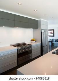 Photo of a modern interior designer kitchen