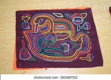 Photo of Mola From Panama made out of native