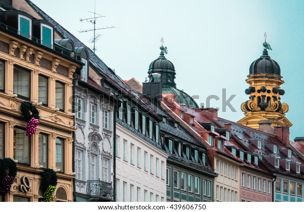 Photo of Munich buildings and houses, Germany