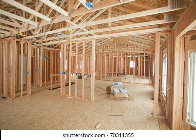 photo of a new home under construction