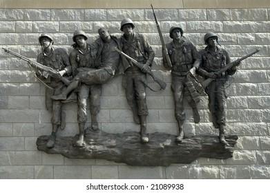 photo of New Jersey Korean War Veterans Memorial in Atlantic city,
