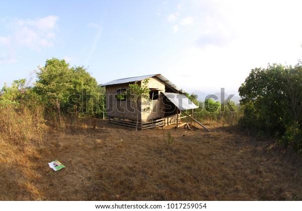 Photo Nipa Hut Kamalig Bahay Kubo Stock Photo Edit Now