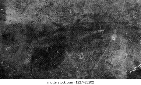 Photo of old dark vintage surface with white scratches