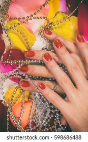 photo on manicure