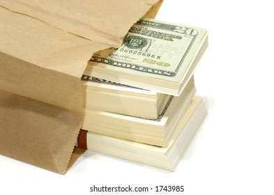 Photo of a Paperbag With Cash
