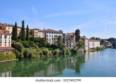 Photo Picture of Beautiful Wild Brenta River in North Italy - Shutterstock ID 1927492799