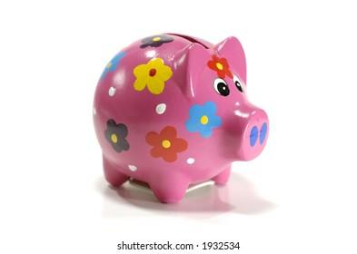 Photo of a Pink Piggy Bank