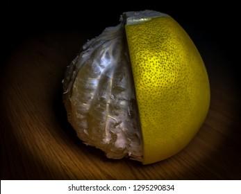 photo of pomelo fruit