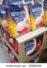 Photo for product Nescafe by Nestle selling on the market . Photo taken on November 2017 using mobile Phone, Photo taken at Servay Hypermarket, Kota Marudu, Sabah, Malaysia.