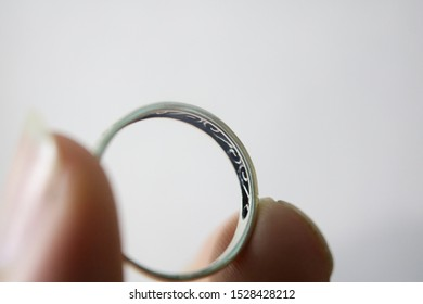 Photo of promise ring for background use