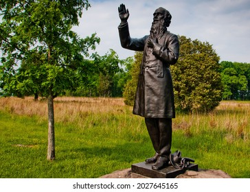 Photo of Reverend Father William Corby Monument, Gettysburg National Military Park, Pennsylvania USA