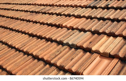 A photo of  a roof.