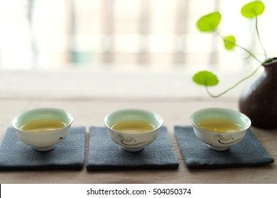 Photo in the room Chinese tea ceremony