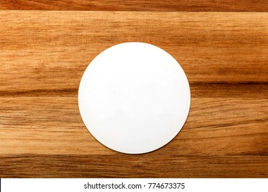 Round business card images stock photos vectors shutterstock a photo of a round white business card on a rustic wooden texture a mockup reheart Image collections