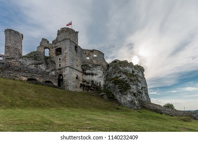 Photo of Ruins of medieval castle, Ogrodzieniec Silesia, Poland