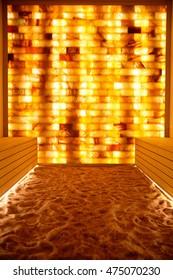 photo of salt room