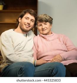 Man dating grandmother