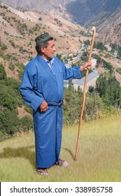 Photo of a shepherd over the gorge Hoja Obigarm