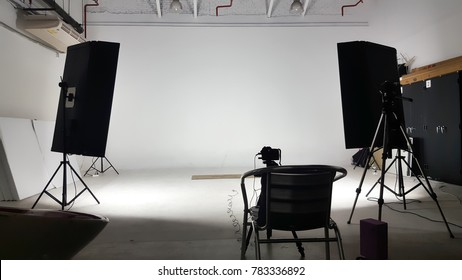 Photo shooting studio production.