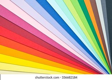 photo shot of multicolored background