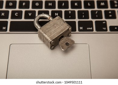 photo showing the concepts of security and confidentiality of personal data on the Internet, good protection
