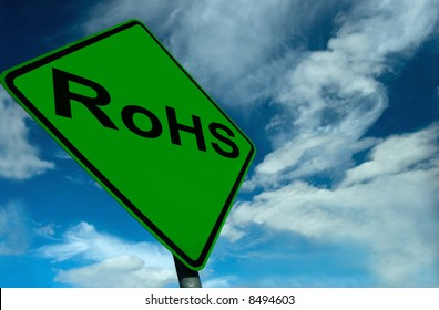 A Photo showing RoHS Compliance, the companys and products friendliness to the environment