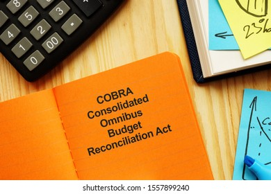 The photo shows COBRA Consolidated Omnibus Budget Reconciliation Act