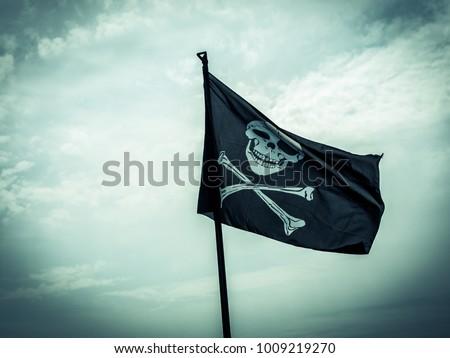 photo shows a pirate