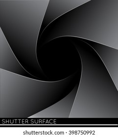 Photo shutter illustration.
