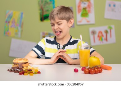Photo of small picky eater and his diet