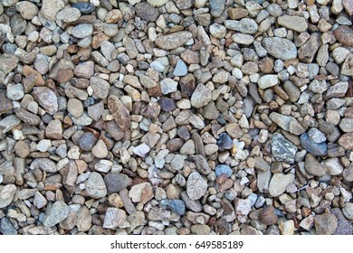 Photo of a small stones. Texture, background