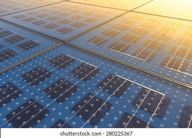 Photo of Solar Panel Texture close up