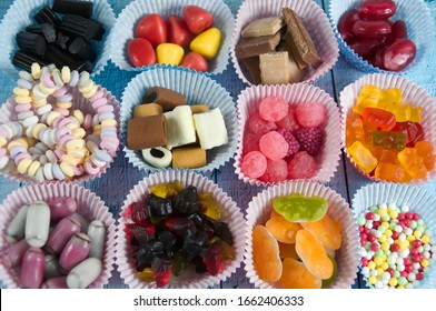 a photo of some colorful candy