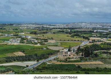 Photo of Spring time Scenery of Mdina, Malta
