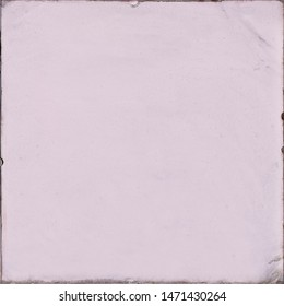 Photo of square format frame with filled plain pale pink colour for use as background, backdrop or template for card note poem or haiku or double exposure image with blank copyspace