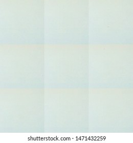 Photo of square format frame with filled plain pale green colour for use as background, backdrop or template for card note poem or haiku or double exposure image with blank copyspace