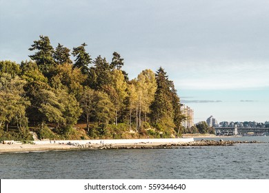 Photo of Stanley Park and Seawall in Vancouver, BC, Canada